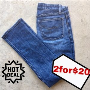 🍄2/$20 Gap 1969 real straight jeans size 4
